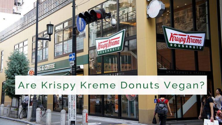 are krispy kreme donuts