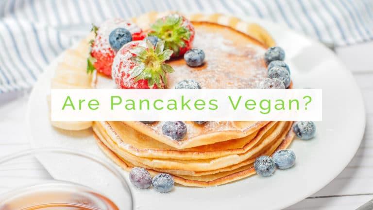 are pancakes vegan