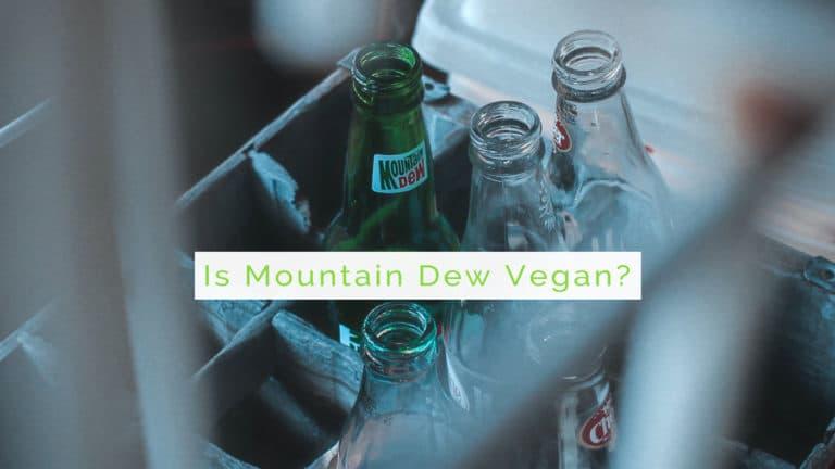 is mountain dew vegan?