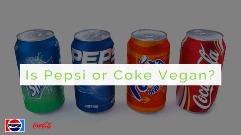 is pepsi or coke vegan