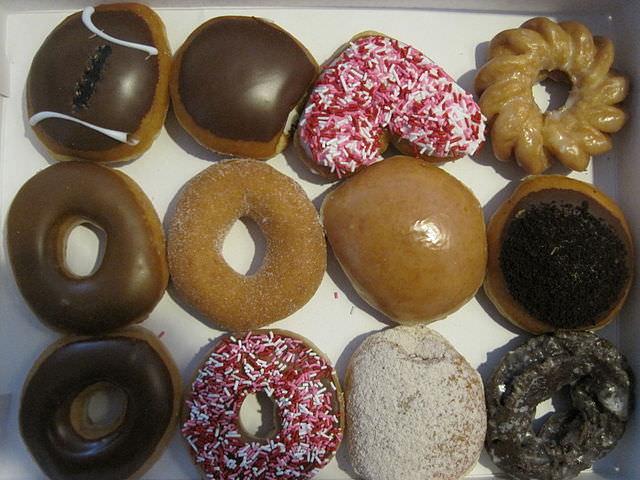 krispy kreme assorted doughnuts