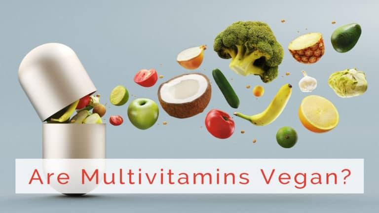 are multivitamins vegan