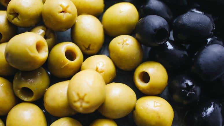 green and black olives vegan