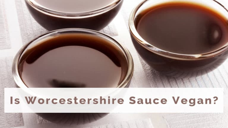 is Worcestershire sauce vegan?