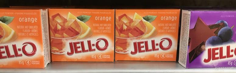 Jell-O is not vegan