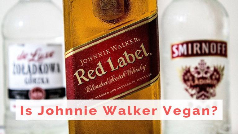 Is Johnnie Walker vegan?
