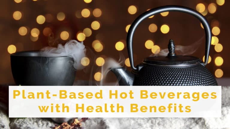 Plant-Based hot beverages with health benefits