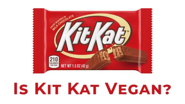 is kit kat vegan?